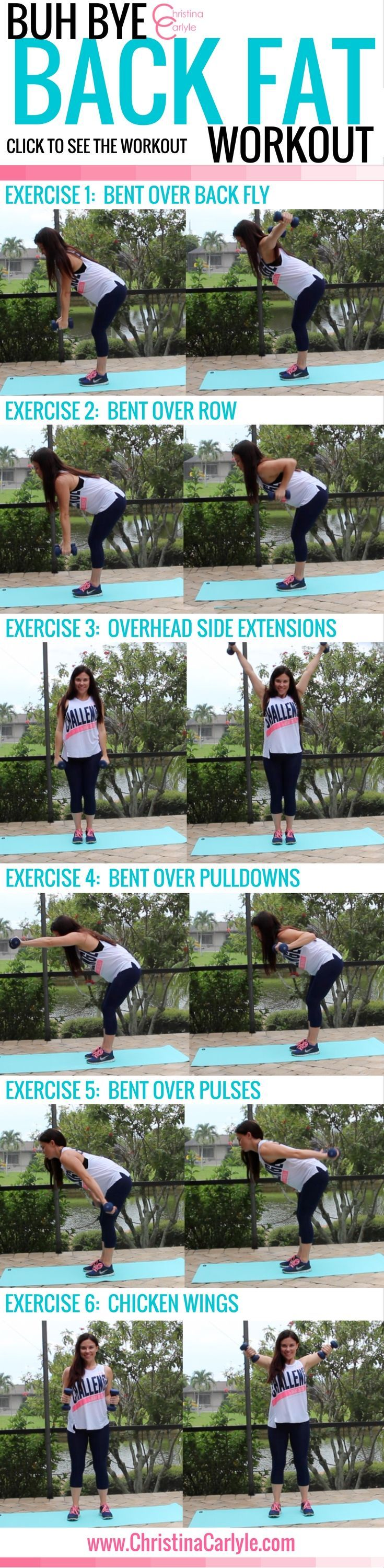 Workouts for women - Exercises for Back Fat https://www.musclesaurus.com/flat-stomach-exercises/