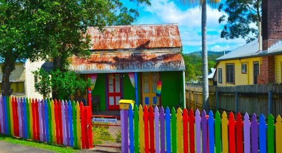 Want to go somewhere different? Perhaps to a colourful, country based, peace lovin' and Earth friendly place in the world? Go to Nimbin, Australia!