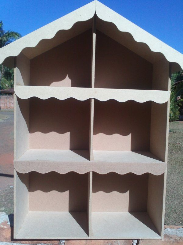 Casa de bonecas para decoração