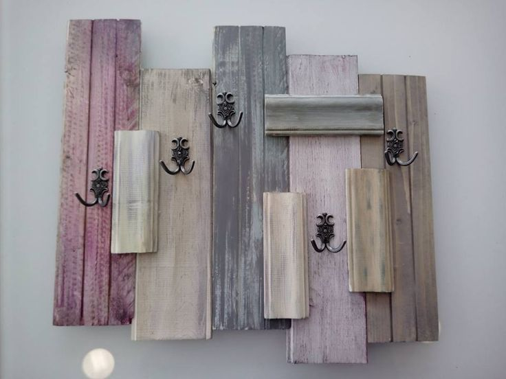 #wooden #handmade #diy #hanger #autentico #chalkpaint #vintage
