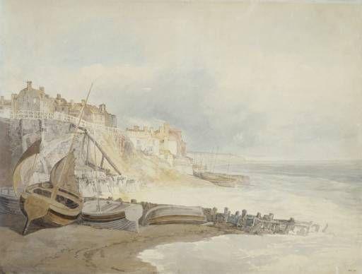Joseph Mallord William Turner 'Brighthelmstone' (circa 1796) painting © Victoria and Albert Museum