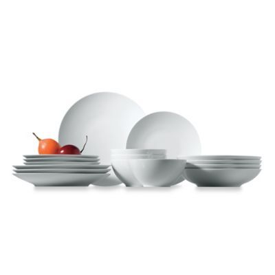 Rosenthal Thomas Loft 16-Piece Dinnerware Set in White - BedBathandBeyond.com