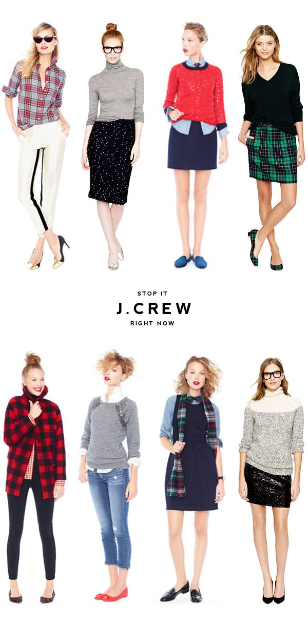 Like the polo neck and grey jumper with jeans. I never thought J.Crew would be a store I could fall in love with. (Minus the prices. They still suck).