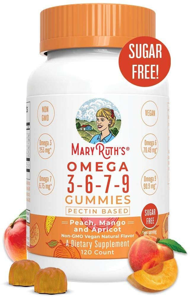 Organic Vegan Vitamin Omega 3 6 7 9 Gummies In 2020 Vegan Vitamins Gummies All Vitamins