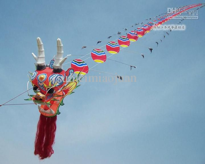 Wholesale Kite & Accessories - Buy !!!Hot Sale WeiFang China 80 Meters Traditional Dragon Kite, $476.44 | DHgate