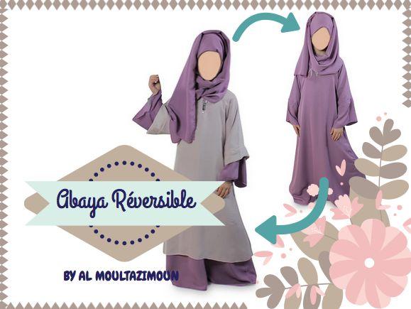 Abaya Réversible Al Moultazimoun #muslim #kids - #girl - #jilbab - #salat - #prière - #best - #abaya - #modest #fashion - - #modest #wear - #muslim #wear - #jilbabi - #outfit - #hijabi - #hijabista - #long #dress - #mode #musulmane - #DIY - #hijab