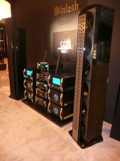 High-End Stereo Equipment | ... high end home theater equipment for some truly demanding audio