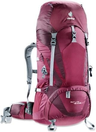 My newest adventure buddy! I love it!! Dueter ACT lite 45+10 pack!