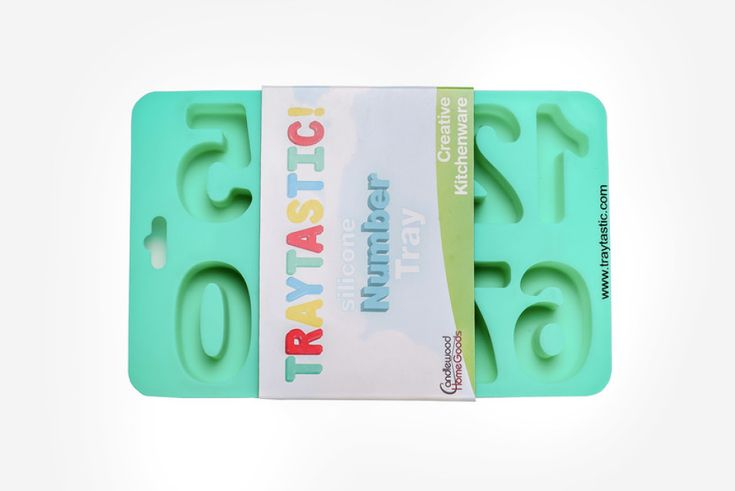 Traytastic Number Trays have been creatively designed in mirror-image to provide the cleanest edges for your masterpiece! Usage Instructions: Prior to first use, wash silicone trays with soap and hot water (always rinse and dry completely after washing.) Do not expose to an open flame, burner, broiler, or use on a grill. Traytastic trays feature an easy release design - do not use any sharp objects as they can damage the trays. Specifications: Dishwasher safe. Oven-safe to 446 degrees…