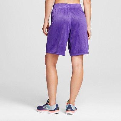 Women's Basketball Shorts Purple Xxl - C9 Champion