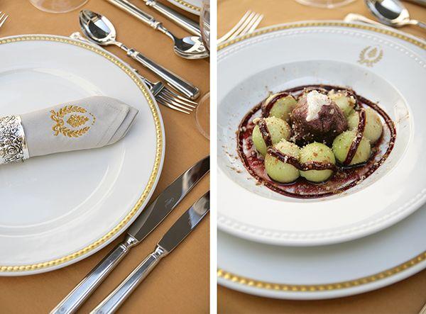 Melon and Red Wine Sorbet  #dessert #sobremesa #logo #branding #tableware #vistaalegre #portugal