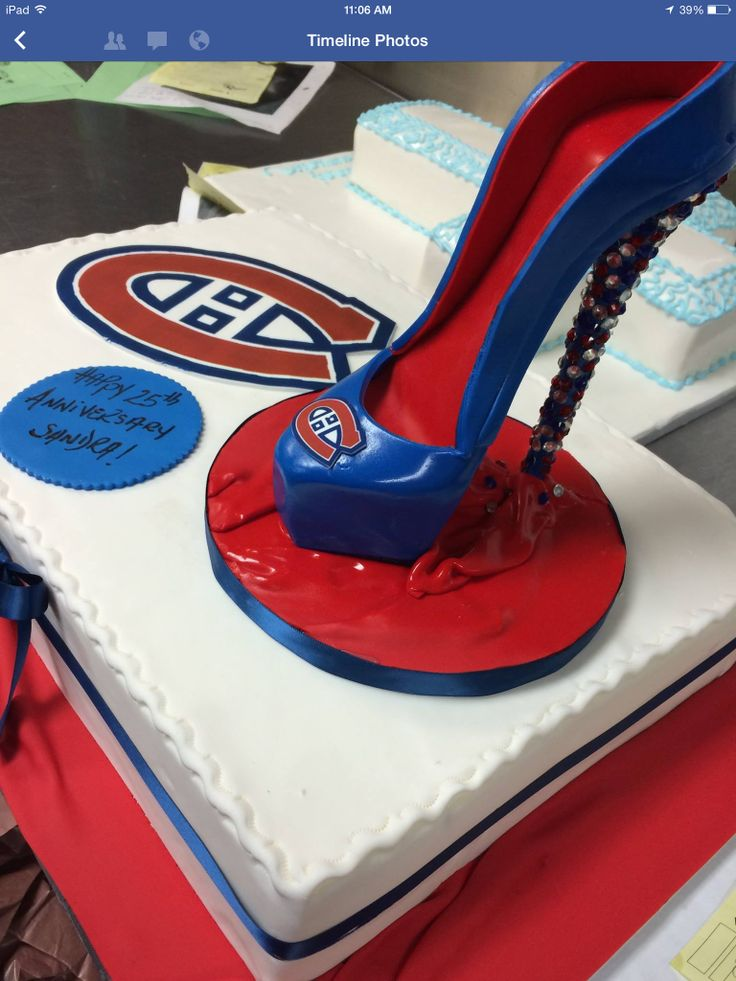 The Montreal Canadian hockey team