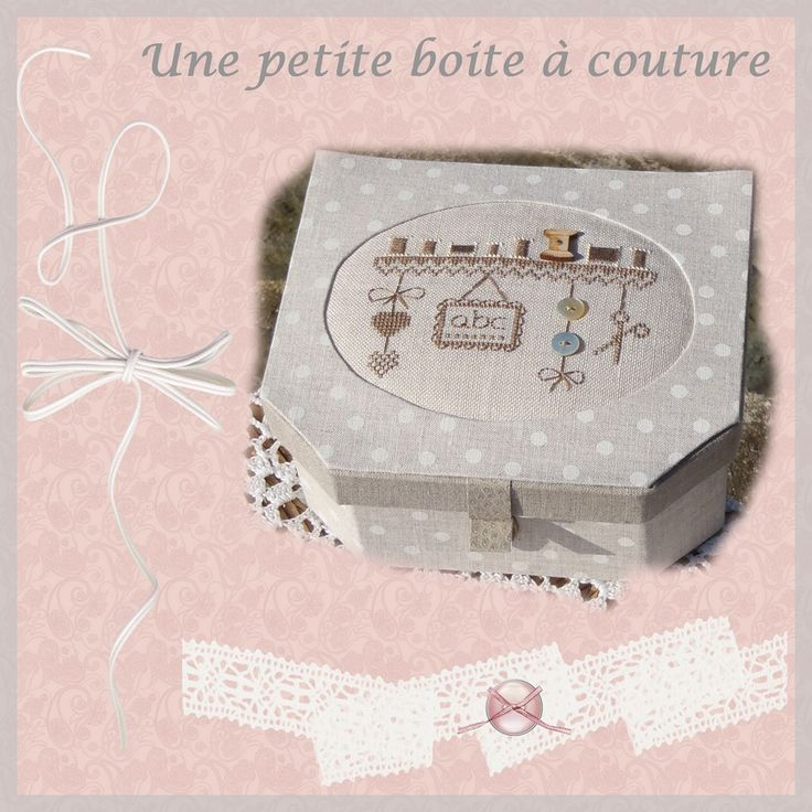 661 best images about boites valisettes cartonnage 2 on - Boite a couture gifi ...