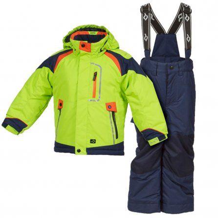 Bright Green Jupa Aleksander 2-Piece Kids Ski Suit (Toddler Boys')   NEW for 2013-14!!