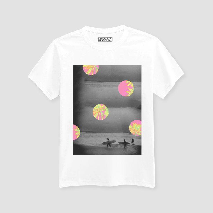 MAMAMA - ♂ Biarritz T-shirt (by Aecho) - White
