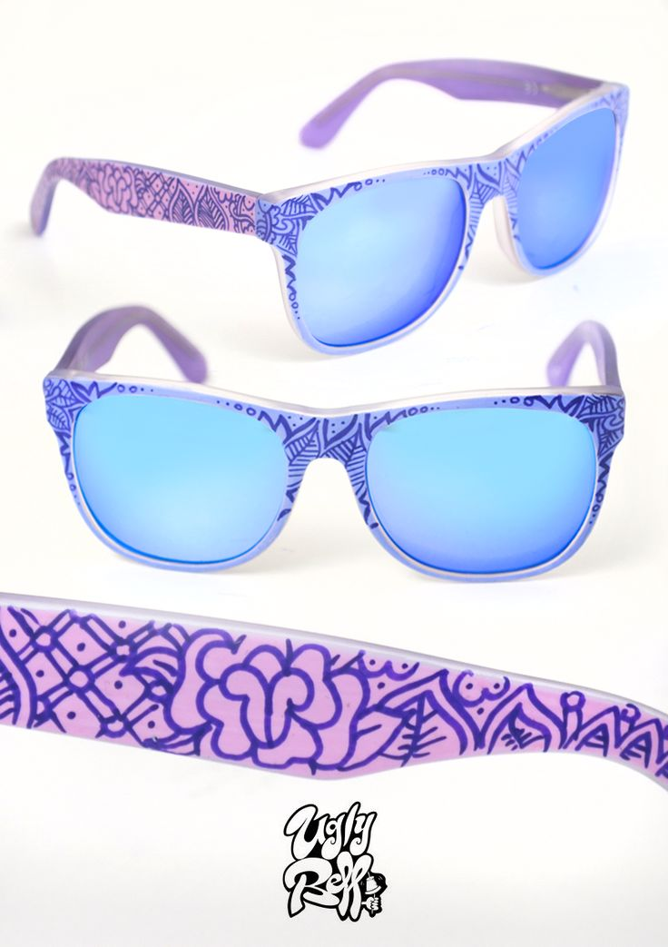 Κάθε ζευγάρι γυαλιών ηλίου Uglybell είναι μοναδικό, ζωγραφισμένο στο χέρι, με άριστης ποιότητας υλικά και έμφαση στην λεπτομέρεια.