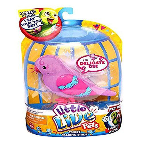 Little Live Pets Bird #1 Delicate Dee Single Pack Playset - http://toyfiguresinaction.com/product/little-live-pets-bird-1-delicate-dee-single-pack-playset/
