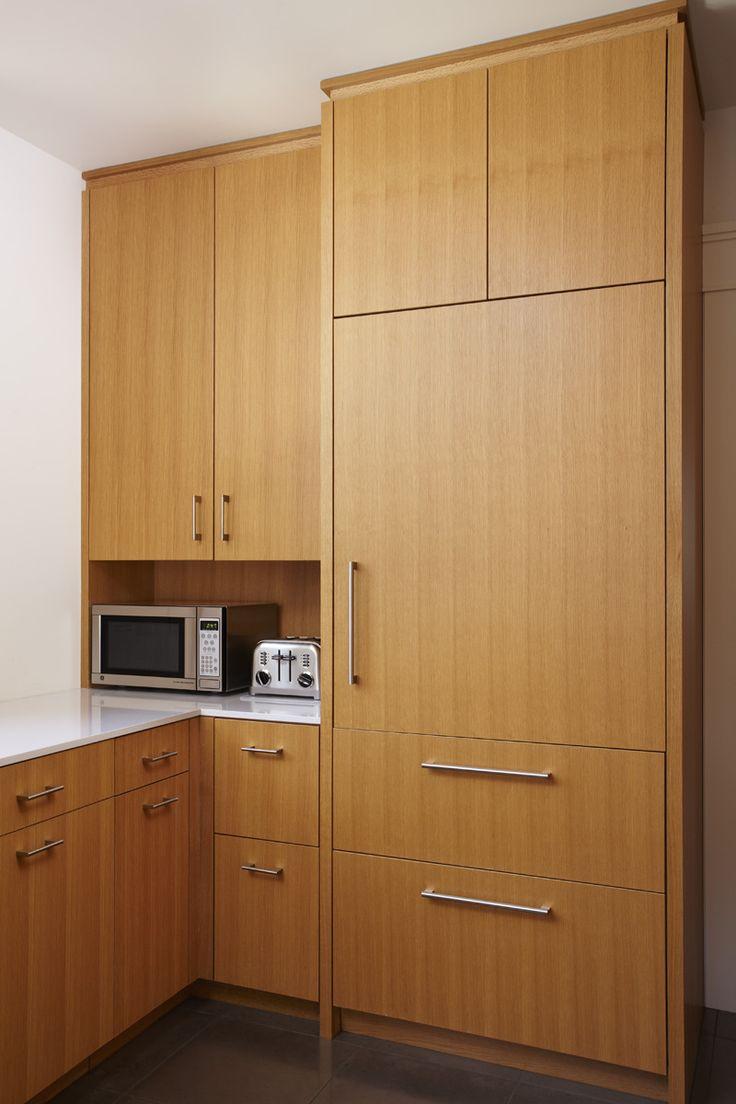 Rift sawn white oak cabinets kitchen modern google for Modern oak kitchen