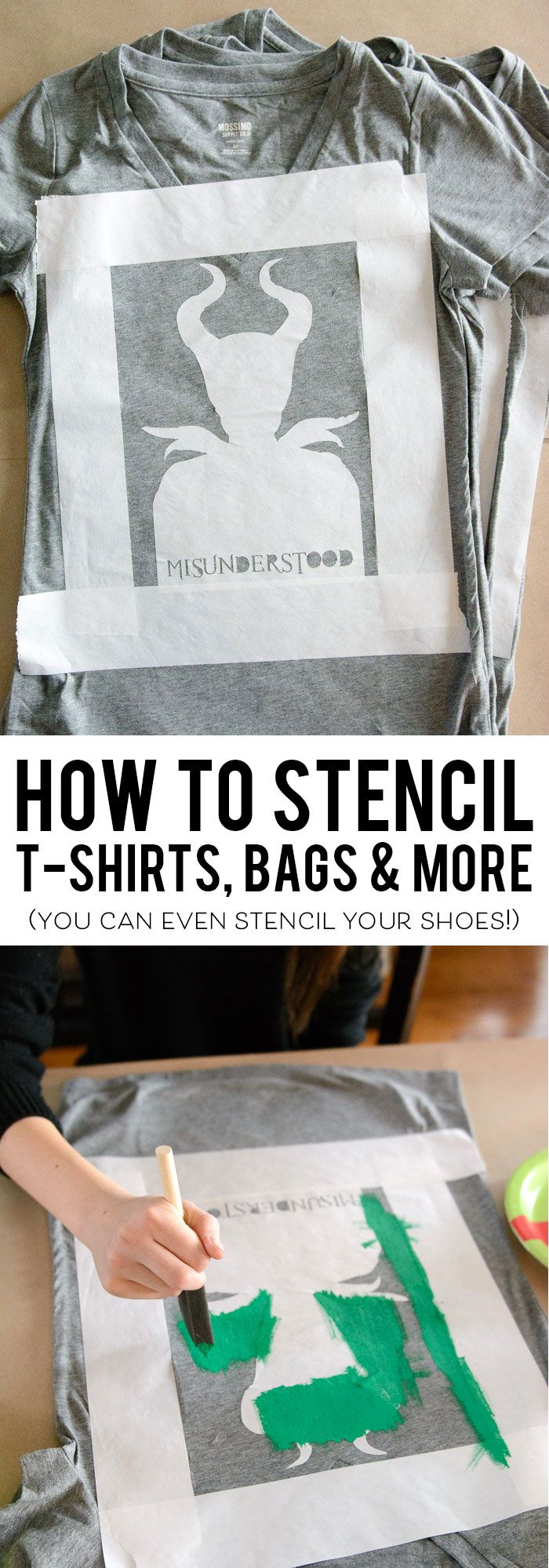 Design t shirt tips - Learn How To Use Freezer Paper To Make Custom Printed T Shirts Tote Bags