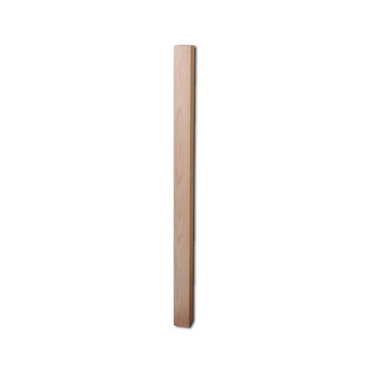 Best 4000 3 1 4″ X 54″ Blank Newel – Red Oak Wood Balusters 400 x 300