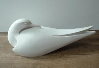 - K - Artist paul Harvey Tern sculpture