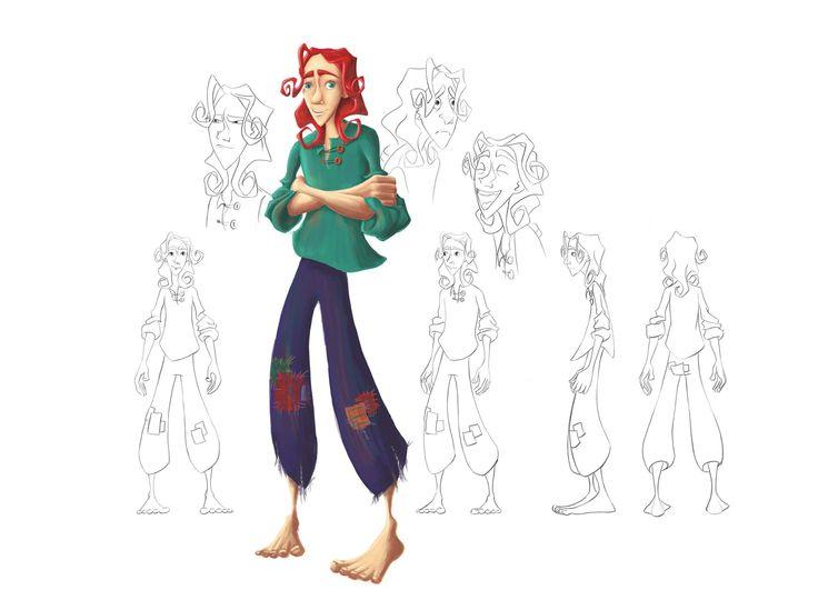 Helena Traut, Caracter design, Art, Illustration
