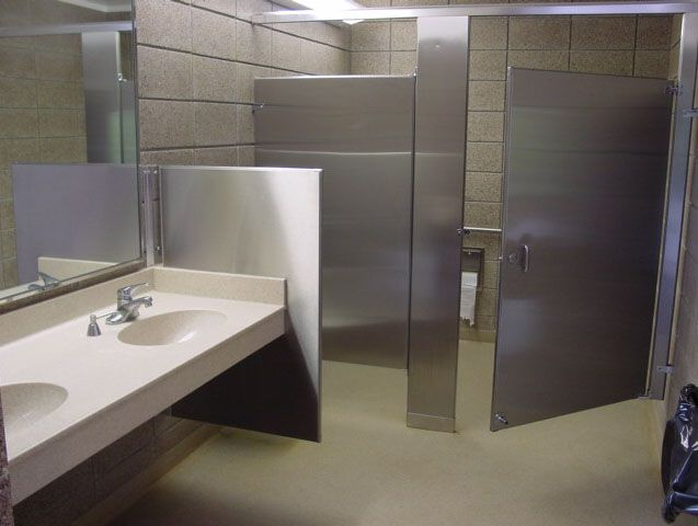 Industrial Bathroom Materials : Commercial restrooms we supply a complete and superior