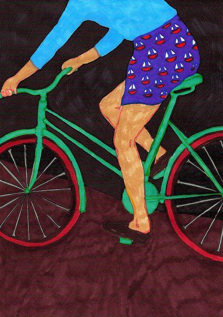 cykla by Isabelle Bervenius, via Flickr