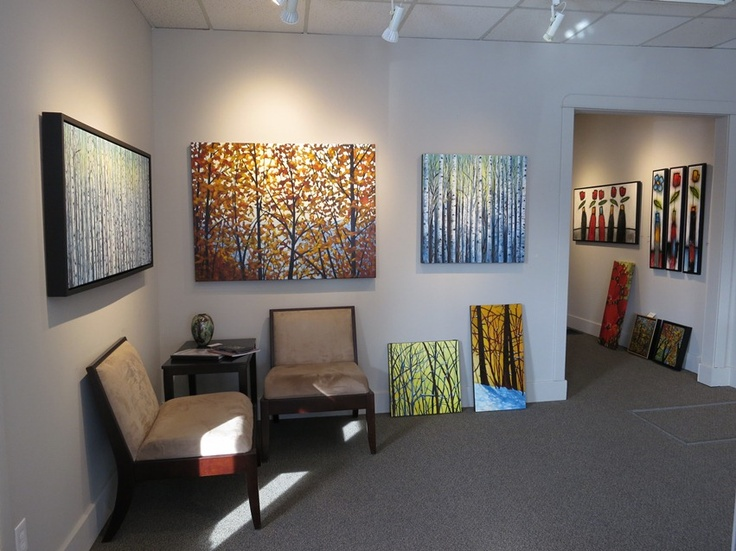 New Paintings on display at Woodlands Gallery by Melissa Jean #CanadianArt www.woodlandsgallery.com