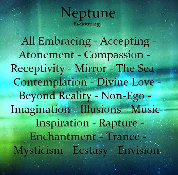 Astrology: Neptune Keywords | #Astrology #Neptune