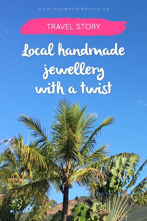 I stumbled across this New Caledonian family business on Instagram. I love the idea behind it, and love the jewels and their names even more. Discover Ckoasa on my blog now :) https://mynewcaledonia.co/travel-tips/local-handmade-jewellery-with-a-twist