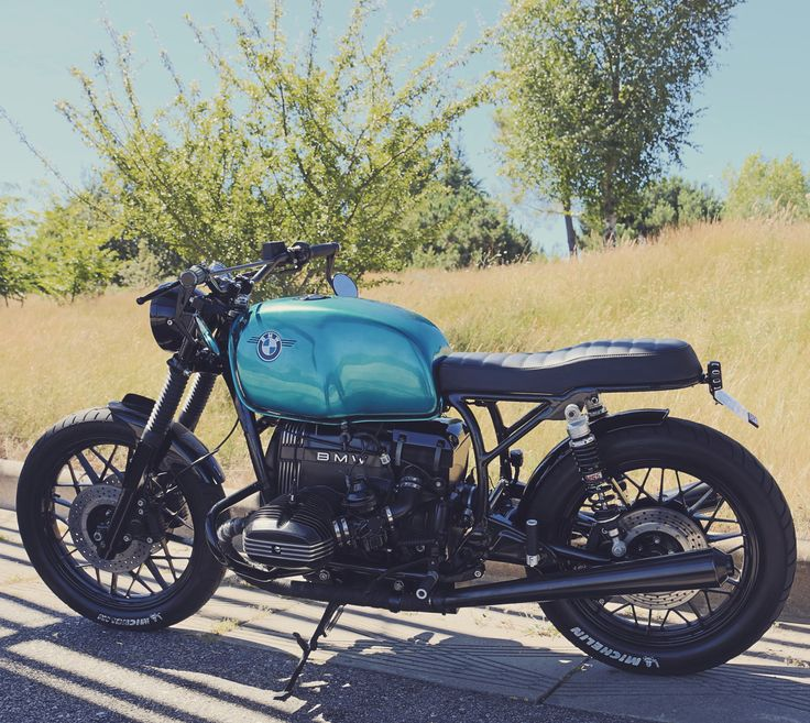 Brat style cafe racer FOR SALE >>> #caferacerforsale #bmw #caferacer #r100 http://caferacerforsale.com/ad/bmw-r100/