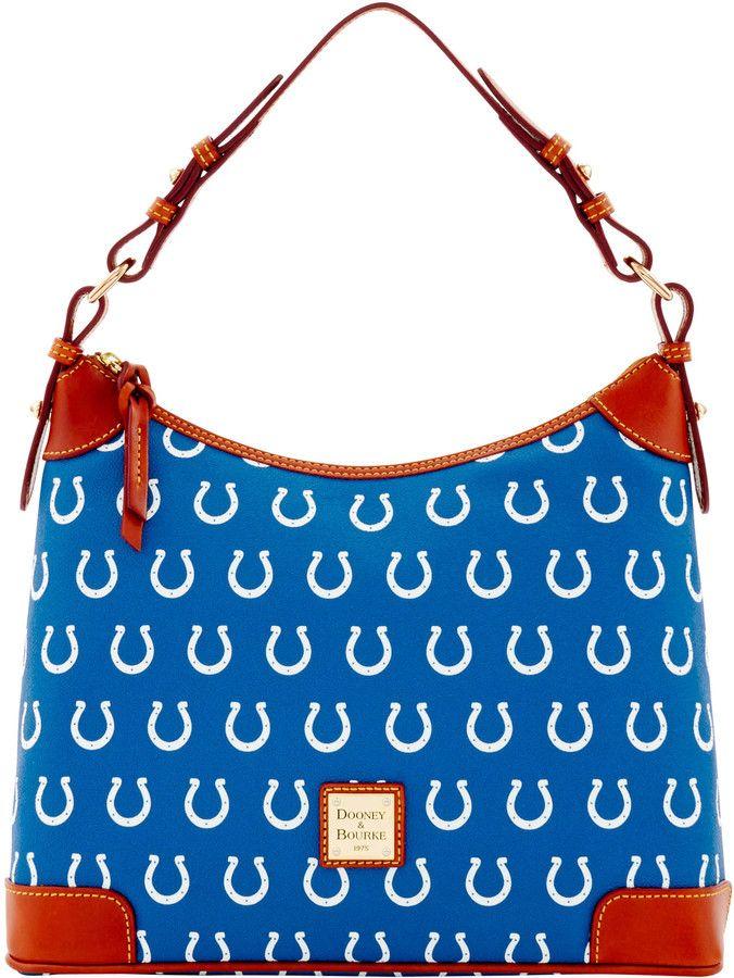 Dooney & Bourke NFL Colts Hobo Shoulder Bag