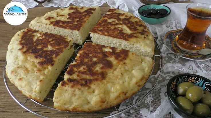 20 dakikada Tavada PEYNİRLİ PAMUK ÇÖREK tarifi-Kahvaltı önerisi -Masmavi3 Mutfakta - YouTube