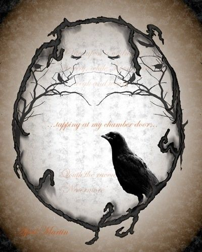 Pin By Anthony Martin On Tattoos: Nevermore By April Martin