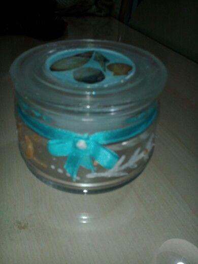 Κρισταλ τζελ με ακρυλικο χρωμα