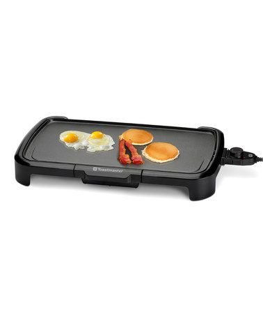 Another great find on #zulily! 10'' x 20'' Electric Griddle #zulilyfinds