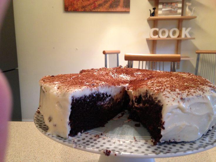 Hummingbird Bakery Chocolate Guiness Cake