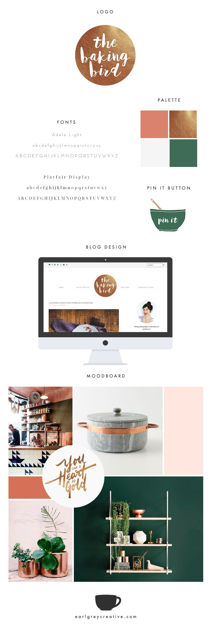 brand style guide template psd