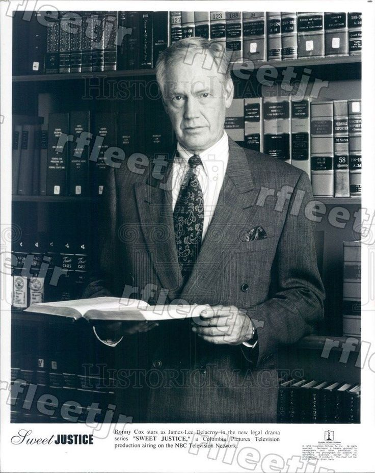 1994 Actor Ronny Cox on TV Show Sweet Justice Press Photo adx539