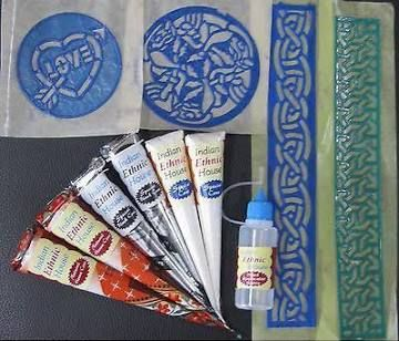 white henna tattoo kit $15.85 free shipping and tax