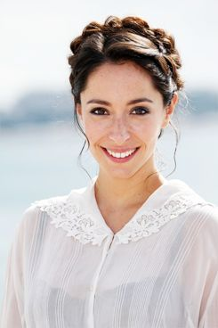 Oona Chaplin. Spanish British Actress and grand daughter of Charlie Chaplin.