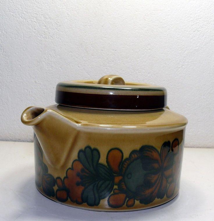 """Arabia Finland Raija Uosikkinen Ulla Procope Tea Pot from The """"Otso"""" Series   eBay"""
