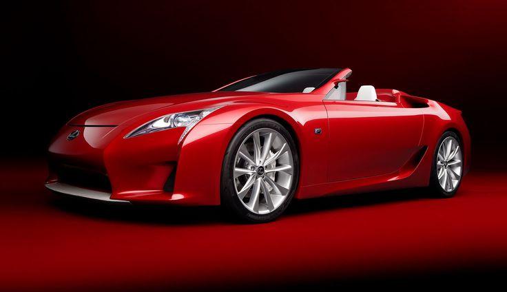 #Red #Conceptcar #Convertible #Dream #Lexus #Style #Lifestyle #Car