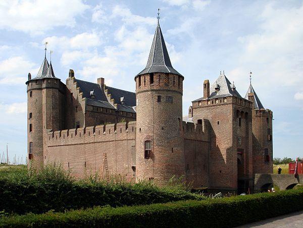 Castles in the Netherlands Muiderslot Castle