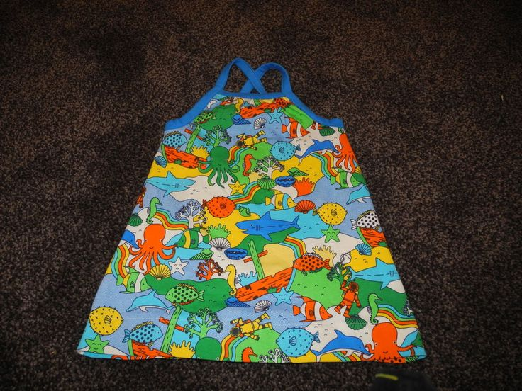 Little Bird By Jools Sealife Dress 9-12 Months