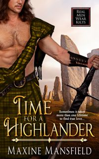 Maxine Mansfield was picked from a field of hundreds of authors. Her book, entitled 'Time For A Highlander' is her sixth novel.