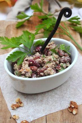 Petits repas entre amis: Lobio géorgien { à ma façon ! } - plat de haricots aux noix