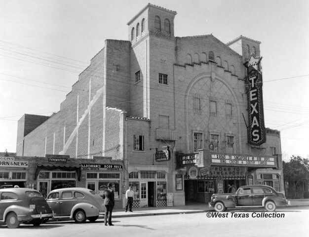 The Texas Theater opened on Thanksgiving Day, 1928; it was one of the first buildings in San Angelo to boast refrigerated air.