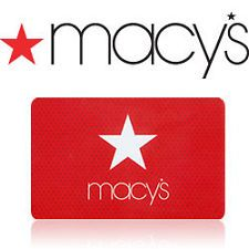 macys gift card- I can always find something at Macy's!